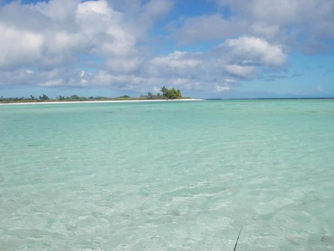Near the lagoon entrance